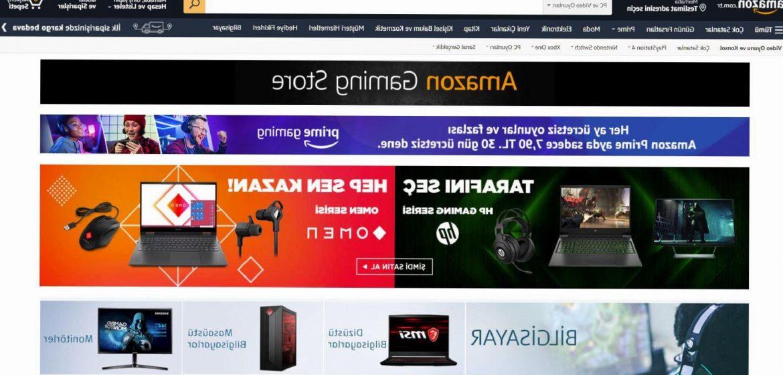 Amazon.com.tr'de 'Gaming Store' açıldı