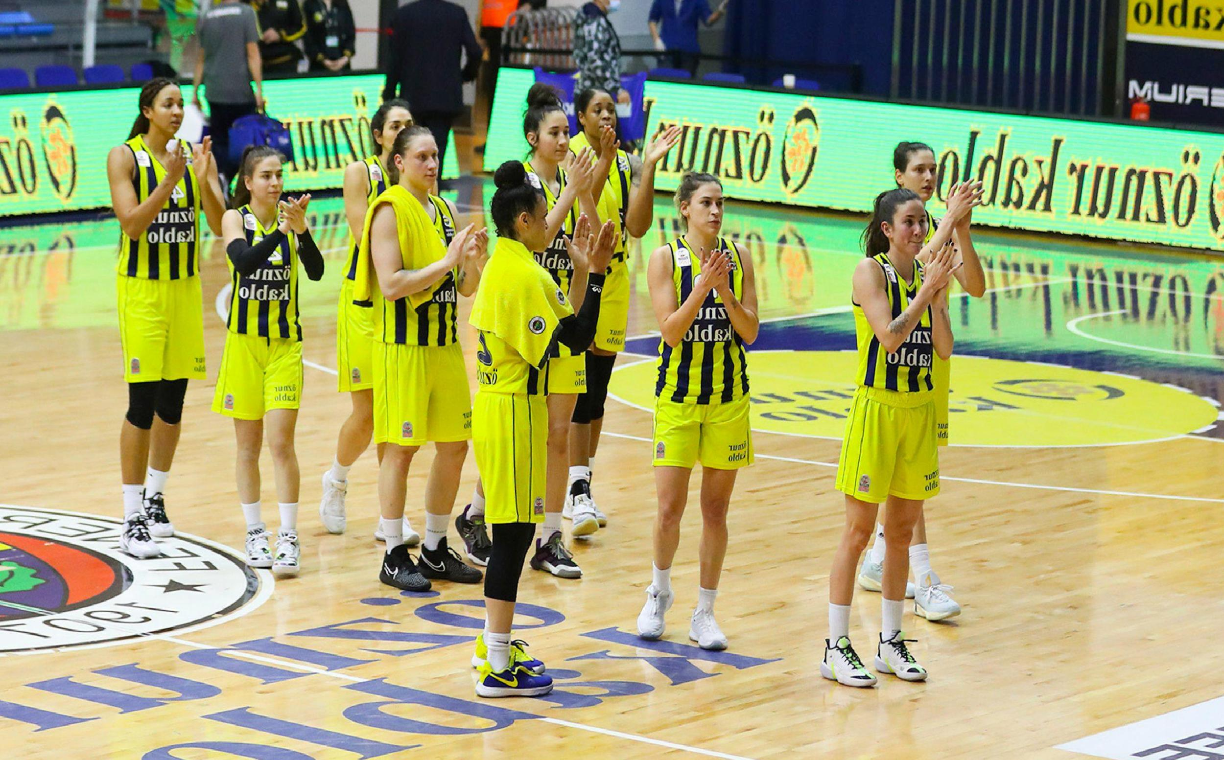 Fenerbahçe Öznur Kablo-Çankaya Üniversitesi maç sonucu: 86-61