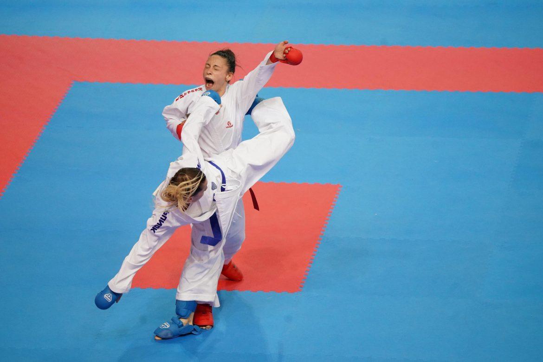 55. Avrupa Büyükler Karate Şampiyonası'nda millilerden büyük başarı