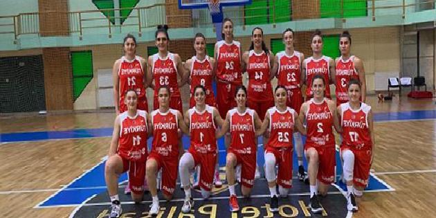 A Milli Kadın Basketbol Takımı, Sırbistan'a kaybetti