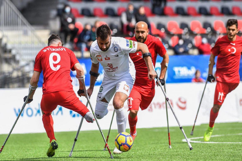 Ampute Futbol Milli Takımı, Polonya'yı 4-1'le geçti