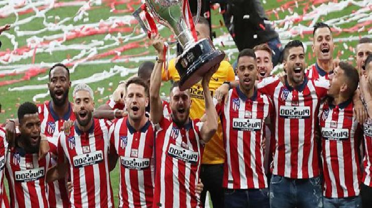 Atletico Madrid kupasını aldı, Suarez 'kalıyorum' dedi