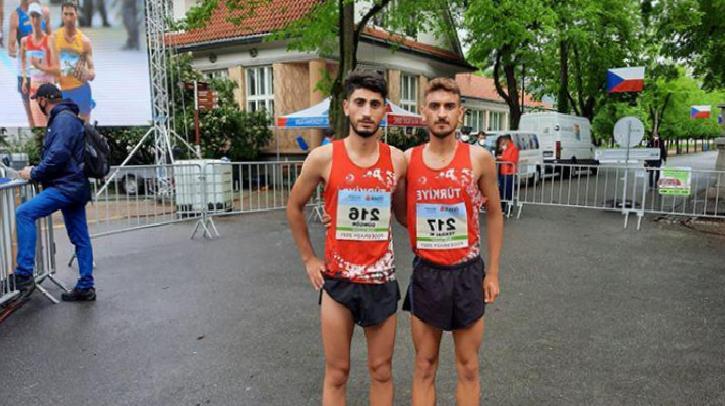 Avrupa Yürüyüş Kupası'nda Serhat Güngör ve Mustafa Tekdal'dan bronz madalya