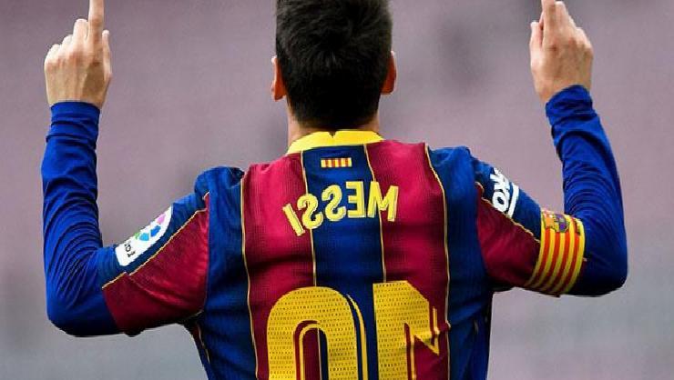 Barcelona'nın yıldızı Lionel Messi, 8. kez La Liga gol kralı