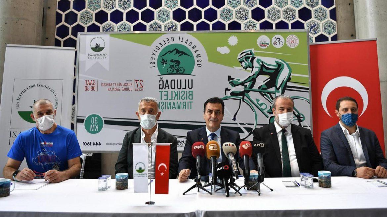 Bisiklet tutkunları Uludağ'a tırmanacak