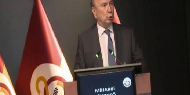 Galatasaray'da İbrahim Özdemir başkanlığa adaylığını açıkladı