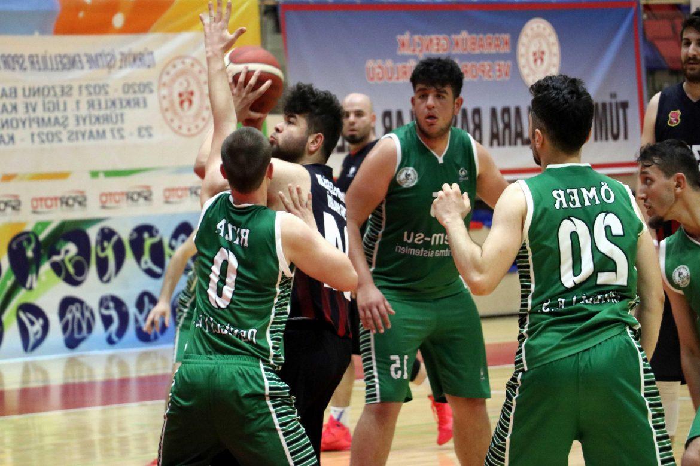 İşitme engelliler basketbol final maçları Karabük'te yapıldı