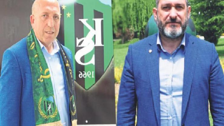 'Kocaelispor ve Sakaryaspor el ele 1. Lig'e'