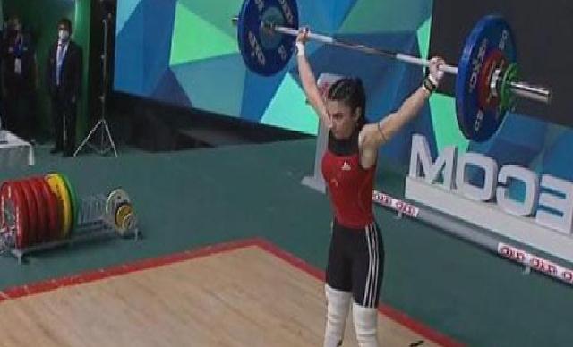 Milli halterci Cansu Bektaş, Gençler Avrupa Halter Şampiyonu oldu