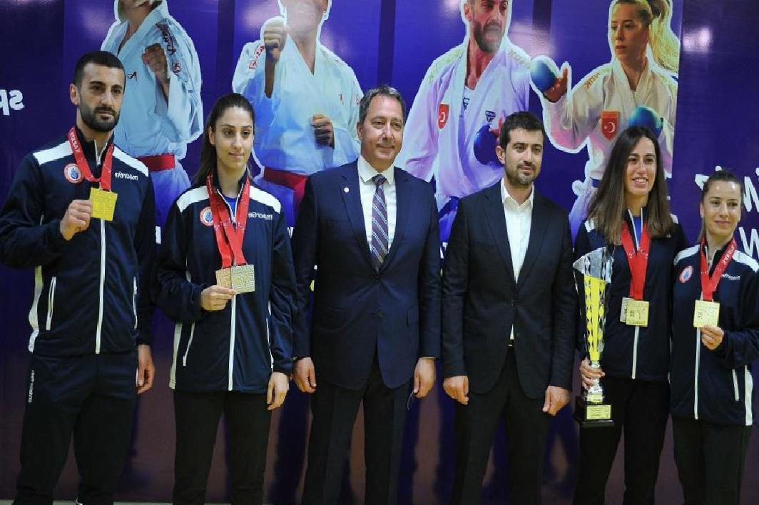 Milli karateciler, olimpiyatlarda madalya sözü verdi!