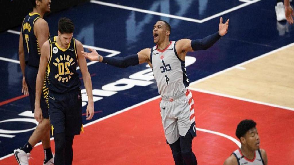 NBA'de Indiana'yı mağlup eden Washington, Play-Off biletini kaptı