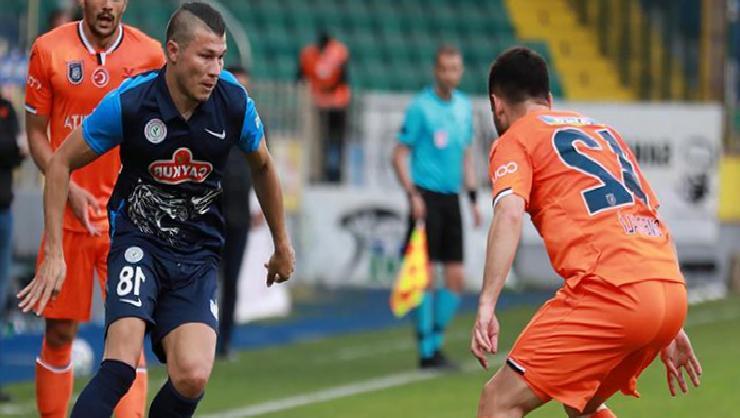 (ÖZET) Çaykur Rizespor – Başakşehir maç sonucu: 0-2