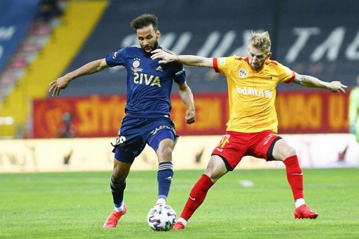 ÖZET   Kayserispor – Fenerbahçe maç sonucu: 1-2