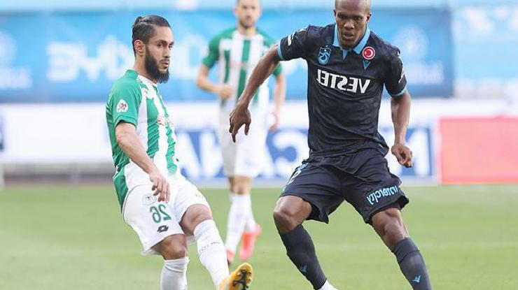 ÖZET | Konyaspor – Trabzonspor maç sonucu: 1-1