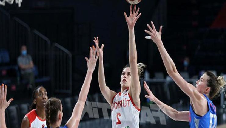 (ÖZET) Türkiye – Rusya maç sonucu: 58-64