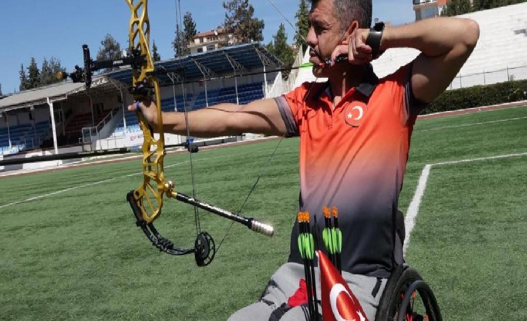 Paralimpik milli okçu Murat Turan: En büyük hayalim Tokyo'da altın madalya
