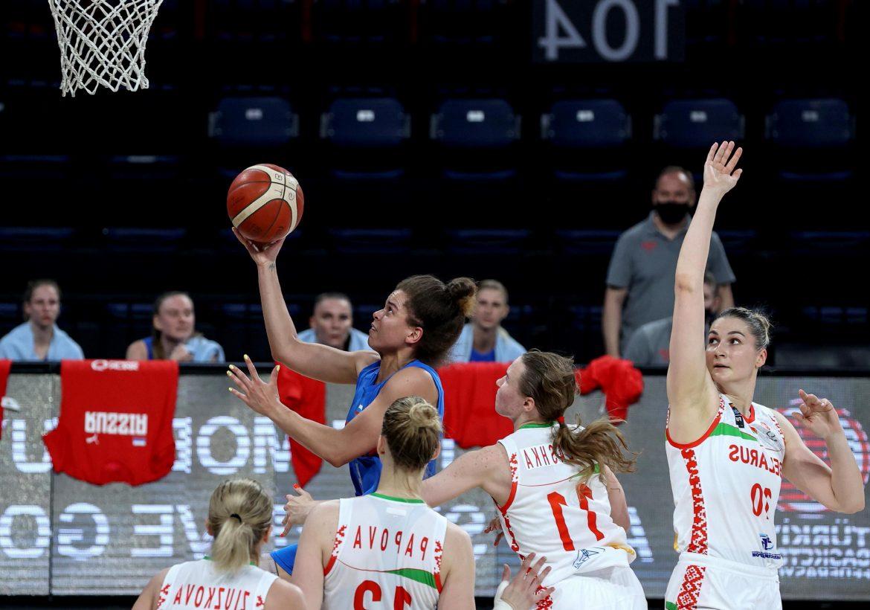 Rusya-Belarus maç sonucu: 74-36