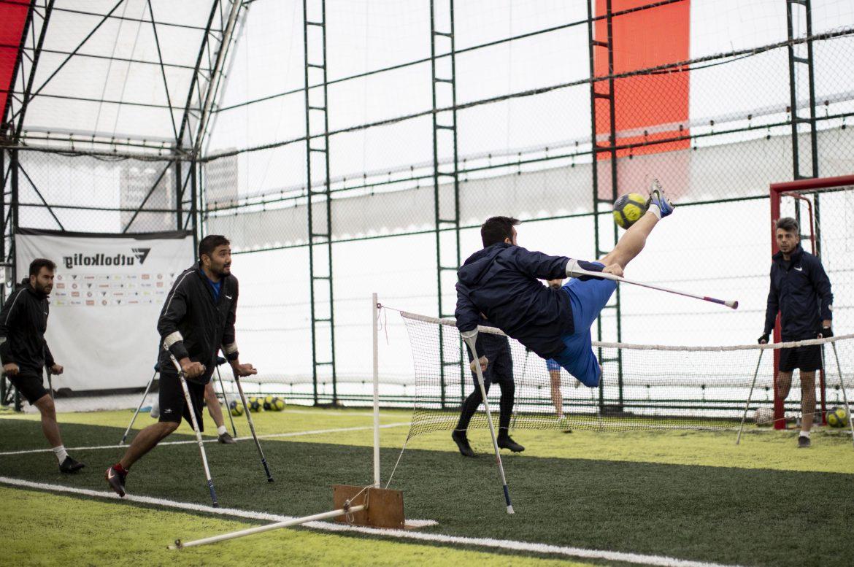Şahinbey Belediyesi'nin gözü Avrupa Ampute Şampiyonlar Ligi Kupası'nda