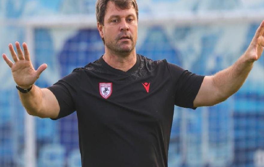 Samsunspor Teknik Direktörü Ertuğrul Sağlam: Her şey oyuncularımızın elinde