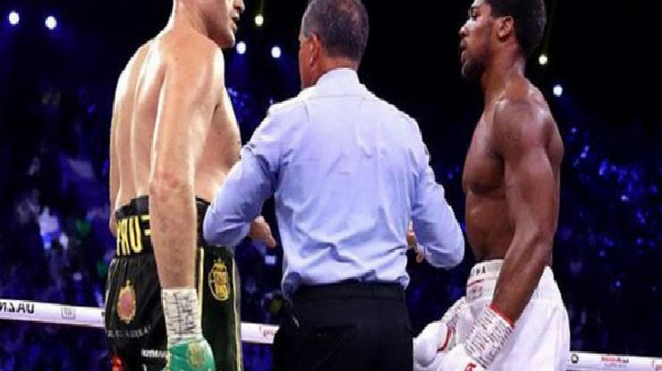 Tyson Fury ve Anthony Joshua Suudi Arabistan'da karşılaşacak